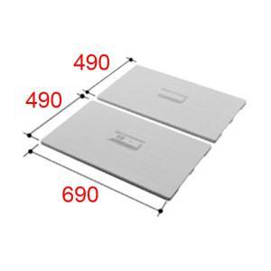 お風呂のふた INAX 風呂ふた 組みふた TWB-100 (1000サイズ用) サイズ:幅492×奥行690mm×2枚組 風呂フタ イナックス|homematerial