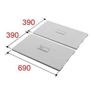 お風呂のふた INAX 風呂ふた 組みふた TWB-80 (800サイズ用) サイズ:幅396×奥行692mm×2枚組 風呂フタ イナックス|homematerial