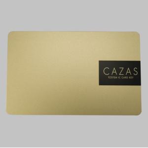 送料無料 トステム 玄関 ドア カザス CAZAS 追加用 カードキー ゴールド Z-003-DVBA 内容物 : 本体×1 homematerial
