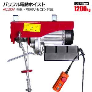 【商品仕様】 定格荷重 :(シングルフック)600kg (ダブルフック)1200kg 揚  程 :1...
