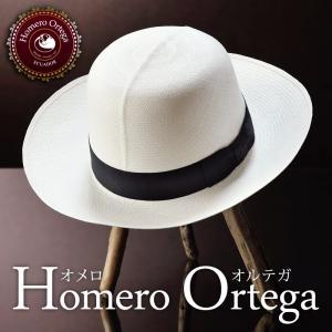 帽子 パナマハット メンズ レディース HomeroOrtega オメロオルテガ OPTIMO オプティモ パナマ帽 春夏|homeroortega