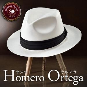 帽子/高級パナマハット/HomeroOrtega(オメロオル...