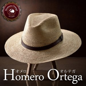 帽子 パナマハット メンズ レディース HomeroOrtega オメロオルテガ JUNGLA MP ジャングル MP パナマ帽 春夏|homeroortega