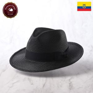帽子 パナマハット メンズ レディース HomeroOrtega オメロオルテガ PRIMERA Black プリメーラ ブラック パナマ帽 春夏|homeroortega