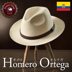 帽子 パナマハット メンズ レディース HomeroOrtega オメロオルテガ ALONDRA アロンドラ パナマ帽 春夏 homeroortega