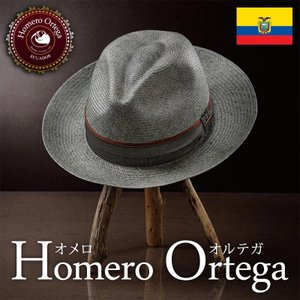 帽子 パナマハット メンズ レディース HomeroOrtega オメロオルテガ FADI ファディ パナマ帽 春夏 homeroortega