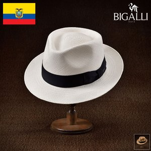 帽子 パナマハット メンズ レディース BIGALLI ビガリ QUICKSTEP PANAMA クイックステップ パナマ パナマ帽 春夏|homeroortega