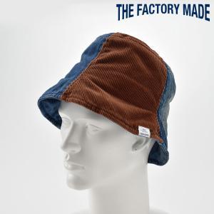 チューリップハット メンズ レディース 帽子 TheFactoryMade ファクトリーメイド デニム コーデュロイ Tulip HAT|homeroortega
