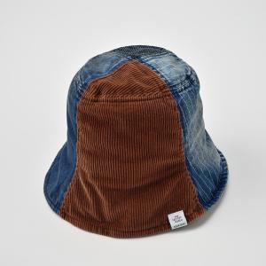 チューリップハット メンズ レディース 帽子 TheFactoryMade ファクトリーメイド デニム コーデュロイ Tulip HAT|homeroortega|03