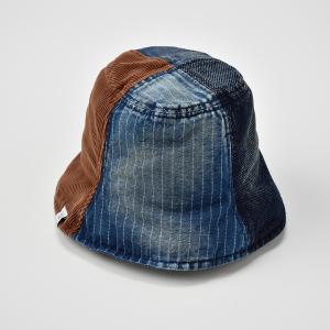 チューリップハット メンズ レディース 帽子 TheFactoryMade ファクトリーメイド デニム コーデュロイ Tulip HAT|homeroortega|04