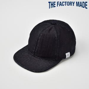 ベースボールキャップ メンズ レディース 帽子 TheFactoryMade ファクトリーメイド 藍染め 畳調 TATAMI CAP タタミ キャップ|homeroortega