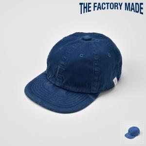 ベースボールキャップ メンズ レディース 帽子 TheFactoryMade ファクトリーメイド 藍染め The SOME CAP ザ ソメ キャップ|homeroortega