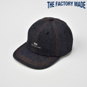ベースボールキャップ メンズ レディース 帽子 TheFactoryMade ファクトリーメイド ネイビー ERD CAP|homeroortega