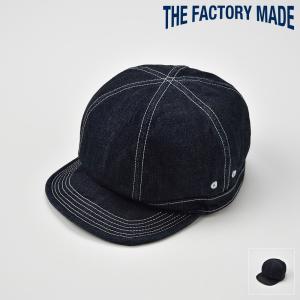 ベースボールキャップ メンズ レディース 帽子 TheFactoryMade ファクトリーメイド 6枚はぎ CORDURA CAP コーデュラキャップ|homeroortega