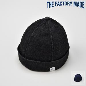 ロールキャップ メンズ レディース 帽子 TheFactoryMade ファクトリーメイド 日本製 Denim WATCH デニムワッチ|homeroortega