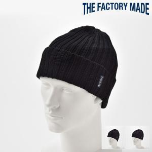 ニット帽 メンズ レディース 帽子 TheFactoryMade ファクトリーメイド インディゴ染め Indigo Knit WATCH インディゴニットワッチ|homeroortega
