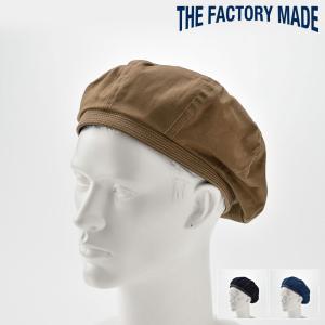 ベレー帽 メンズ レディース 帽子 TheFactoryMade ファクトリーメイド キャスケット風クラウン Stitch BERET ステッチベレー|homeroortega