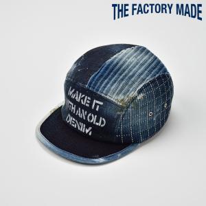 ベースボールキャップ メンズ レディース 帽子 TheFactoryMade ファクトリーメイド VINTAGE WORKER CAP ヴィンテージワーカーキャップ|homeroortega