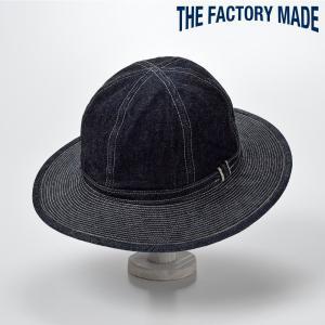 ハット メンズ レディース 帽子 TheFactoryMade ファクトリーメイド 14oz FATIGUE HAT Navy(14オンス ファティーグ ハット)|homeroortega