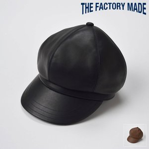 キャスケット メンズ レディース 帽子 TheFactoryMade ファクトリーメイド 馬革バイザー HON-AI SASHIKO CAS ホンアイサシコキャス|homeroortega