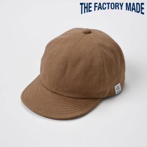 ベースボールキャップ メンズ レディース 帽子 TheFactoryMade ファクトリーメイド Organic CAP(オーガニック キャップ)|homeroortega