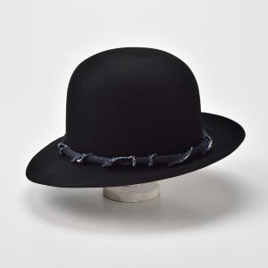 ボーラーハット メンズ レディース 帽子 TheFactoryMade ファクトリーメイド 日本製 Open Crown オープン クラウン|homeroortega|03