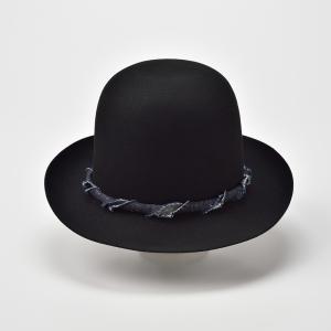ボーラーハット メンズ レディース 帽子 TheFactoryMade ファクトリーメイド 日本製 Open Crown オープン クラウン|homeroortega|04