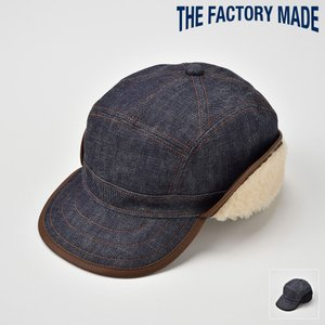 キャップ メンズ レディース 帽子 TheFactoryMade ファクトリーメイド 耳あて付き デニムアメカジキャップ ERD BOA CAP|homeroortega