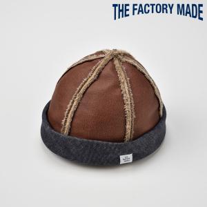 ロールキャップ メンズ レディース 帽子 TheFactoryMade ファクトリーメイド 内側起毛 SHORT MOUTON WATCH ショートムートンワッチ|homeroortega