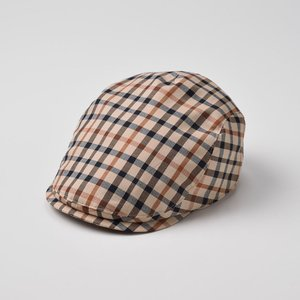 ハンチング メンズ レディース 帽子 DAKS ダックス D2589 ハンチング コットン|homeroortega