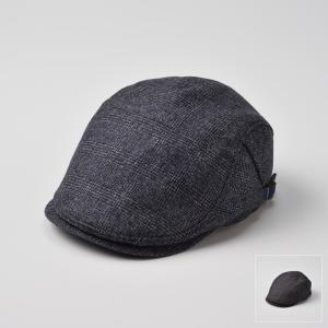ハンチング メンズ レディース 帽子 DAKS ダックス サイドフリーハンチング グレンチェック D3727|homeroortega