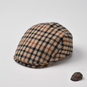 ハンチング メンズ レディース 帽子 DAKS ダックス ハンチング ウール D3421|homeroortega