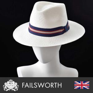 帽子/本パナマハット/Failsworth(フェイルスワース)/Panama Regimental(パナマ レジメンタル)イギリス製中折れ帽/メンズ・レディース homeroortega