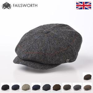 ハンチング 帽子 メンズ レディース Failsworth フェイルスワース 秋冬 Harris Tweed Carloway ハリス ツイード キャロウェイ|homeroortega