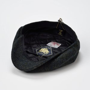 ハンチング 帽子 メンズ レディース Failsworth フェイルスワース 秋冬 Harris Tweed Carloway ハリス ツイード キャロウェイ|homeroortega|14
