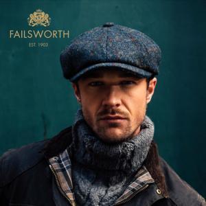 ハンチング 帽子 メンズ レディース Failsworth フェイルスワース 秋冬 Harris Tweed Carloway ハリス ツイード キャロウェイ|homeroortega|20