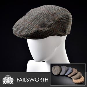 帽子/高級ハンチング帽/Failsworth(フェイルスワース)/Moon Cambridge(ムーン ケンブリッジ)イギリス製ツイードキャップ/メンズ・レディース|homeroortega