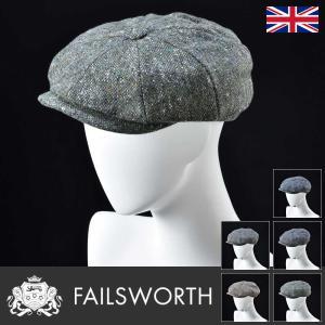 ハンチング 帽子 メンズ レディース Failsworth フェイルスワース 秋冬 Donegal Tweed Mayo ドネガル ツイード メイヨー homeroortega