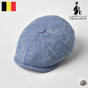 【15%OFFクーポン対象】キャスハンチング メンズ 春夏 帽子 大きいサイズ 紳士帽 HERMAN...