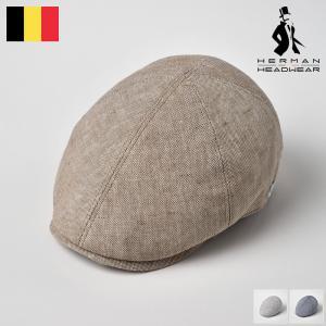 【15%OFFクーポン対象】リネンハンチング メンズ 春夏 ハンチング帽子 大きいサイズ 紳士帽 ベ...
