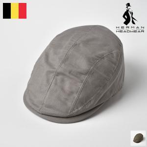 【15%OFFクーポン対象】メンズ ハンチング 春夏 帽子 大きいサイズ 紳士帽 ベルギー HERM...