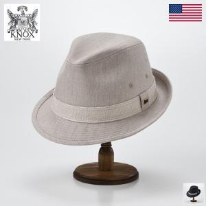 ハット メンズ レディース 帽子 KNOX ノックス Herringbone Tyrolean Hat(ヘリンボーン チロリアン ハット)|homeroortega