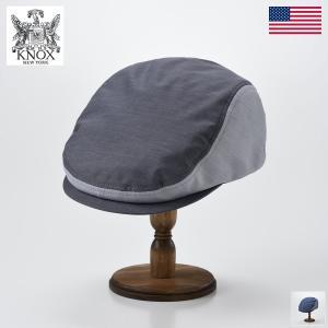 ハット メンズ レディース 帽子 KNOX ノックス Chambray Hunting(シャンブレー ハンチング)|homeroortega