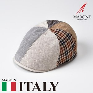 帽子 ハンチング メンズ レディース MARONE マローネ Carillon カリオン キャップ 春夏|homeroortega