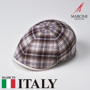 帽子 ハンチング メンズ レディース MARONE マローネ Conchiglia コンキリア キャップ 春夏|homeroortega