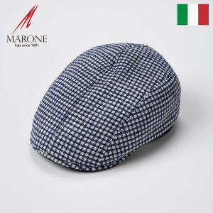 帽子 ハンチング メンズ レディース MARONE マローネ Cubo クーボ キャップ 春夏|homeroortega
