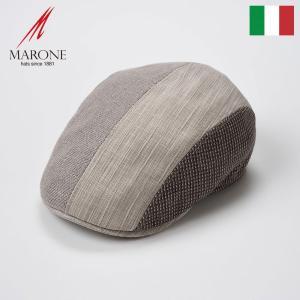 帽子 ハンチング メンズ レディース MARONE マローネ Retorica レトーリカ キャップ 春夏|homeroortega