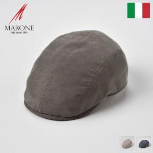 【15%OFFクーポン対象】ハンチング ハンチング帽 春夏 メンズ 帽子 大きいサイズ イタリア M...