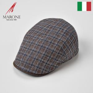 【15%OFFクーポン対象】ハンチング メンズ レディース 帽子 春夏 ハンチング帽子 MARONE...