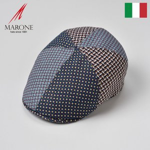 【15%OFFクーポン対象】ハンチング イタリア製 メンズ レディース 帽子 春夏 大きいサイズ M...